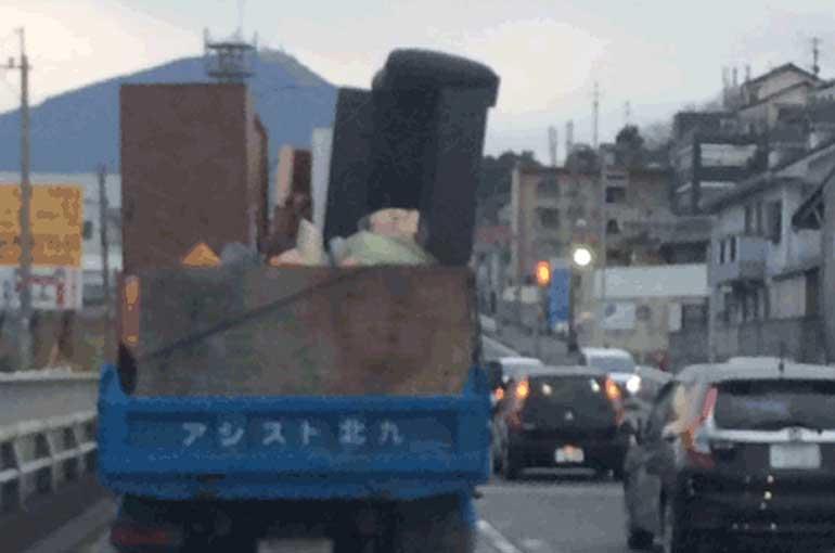 2トン車の不用品