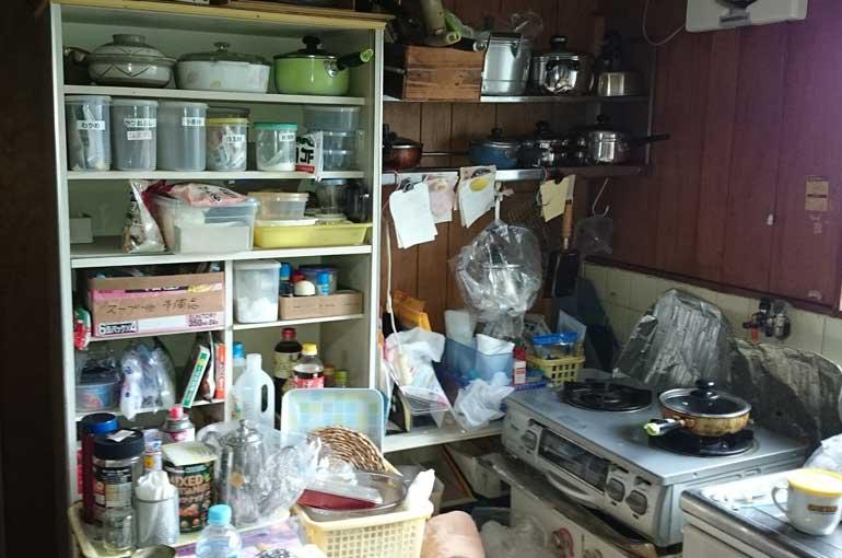 台所(キッチン)の片付け