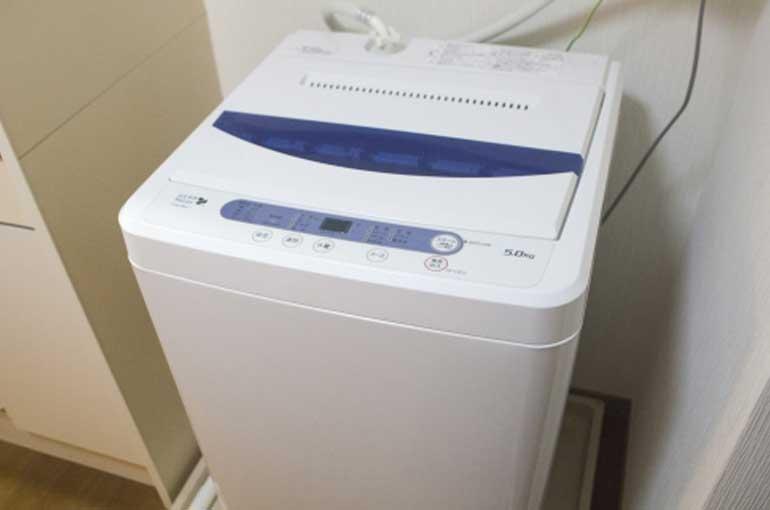 全自動洗濯機の廃棄処分