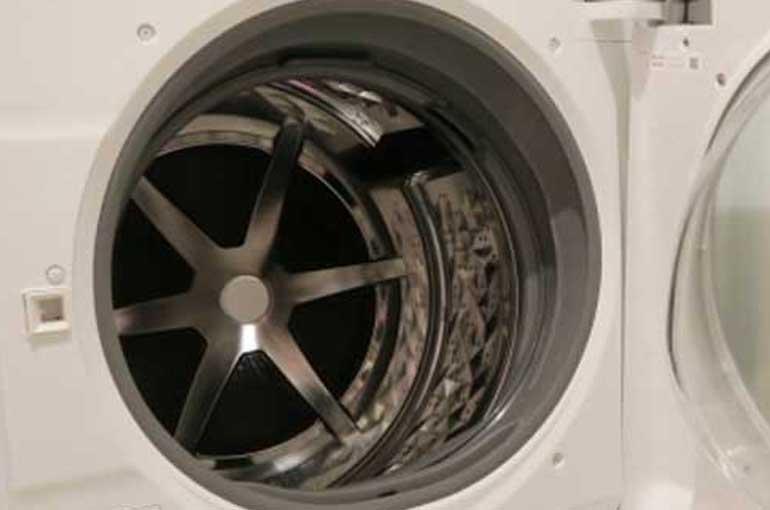 廃棄予定の衣類乾燥機