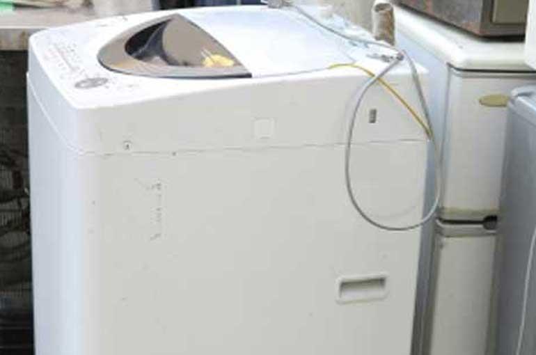 ジャンク品の洗濯機