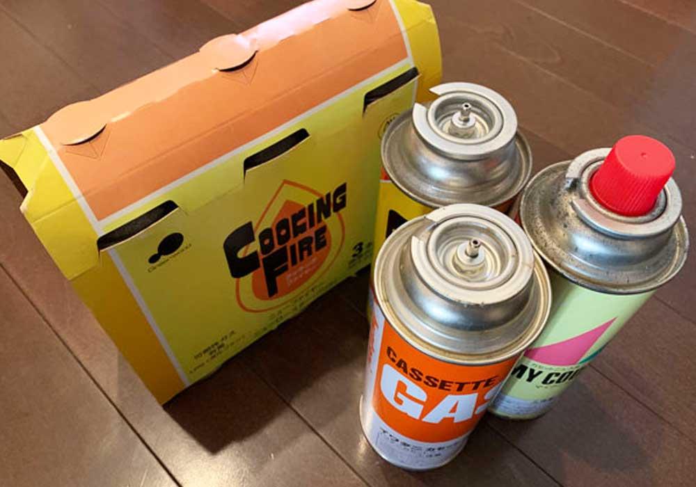 カセットガスボンベ(CD缶)