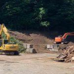 生木・剪定枝、廃木材のリサイクル工場