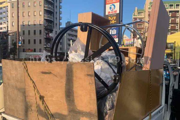 北九州市で回転式ハンガーラックなどの粗大ゴミを回収処分