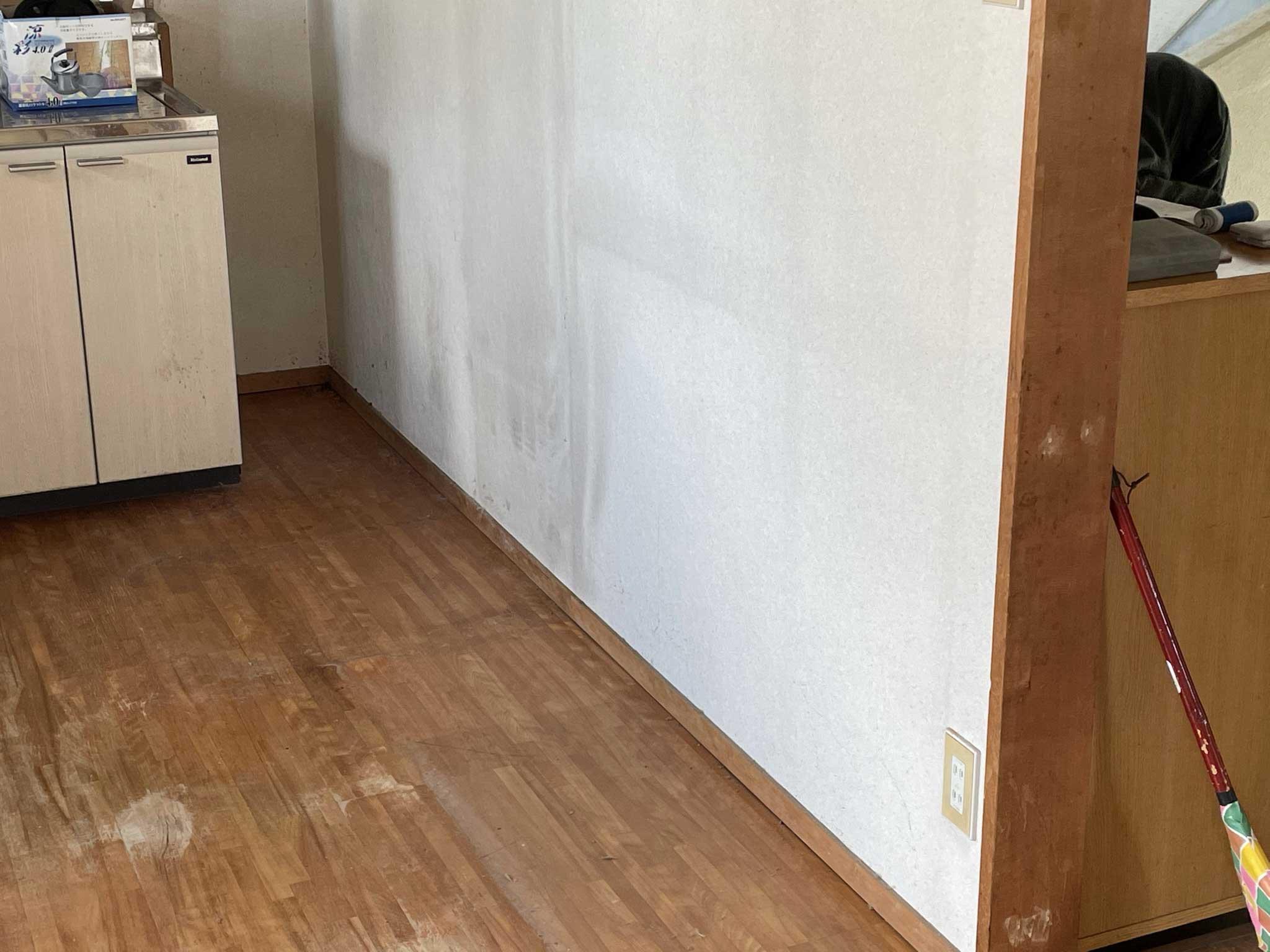 冷蔵庫や食器棚 アフター