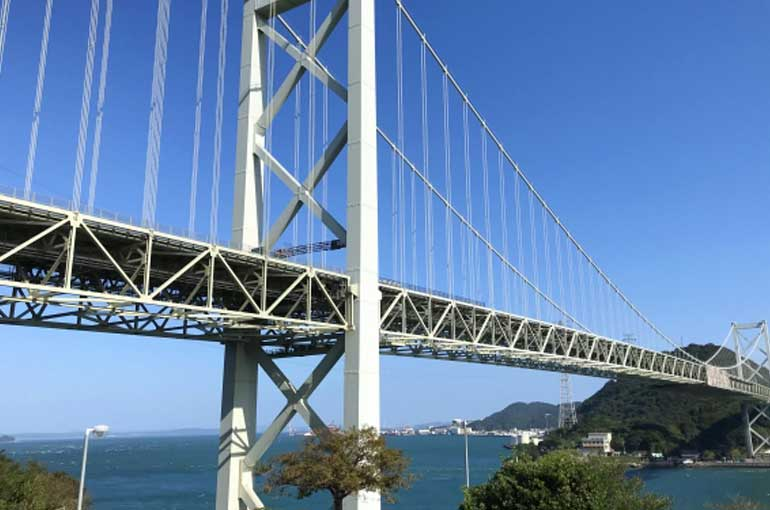 下関と門司を結ぶ関門橋