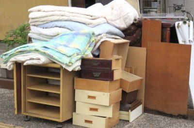 家具や布団などの大型ごみ